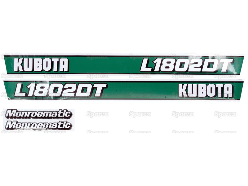 Decal Kit L1802DT