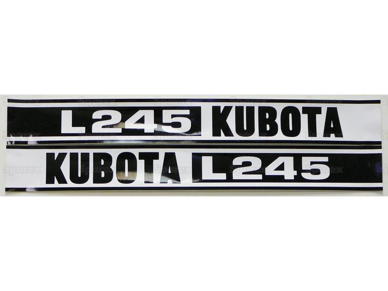 DECAL- KUBOTA L245