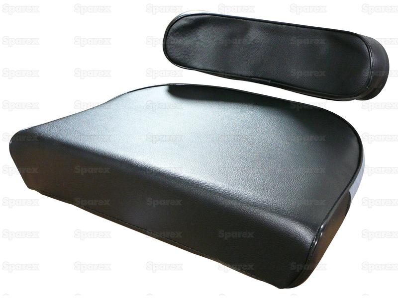 SEAT CUSHION SET, BLACK, MF