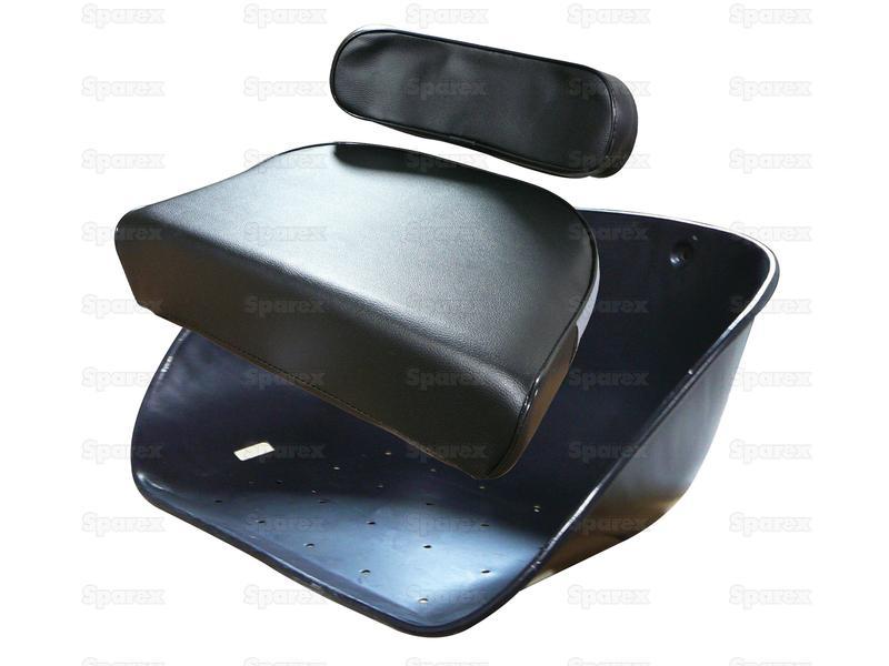 CUSHION SET & SEAT PAN - BLACK