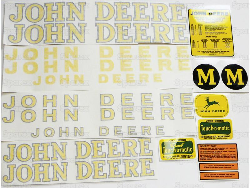 Decal Kit, JD M