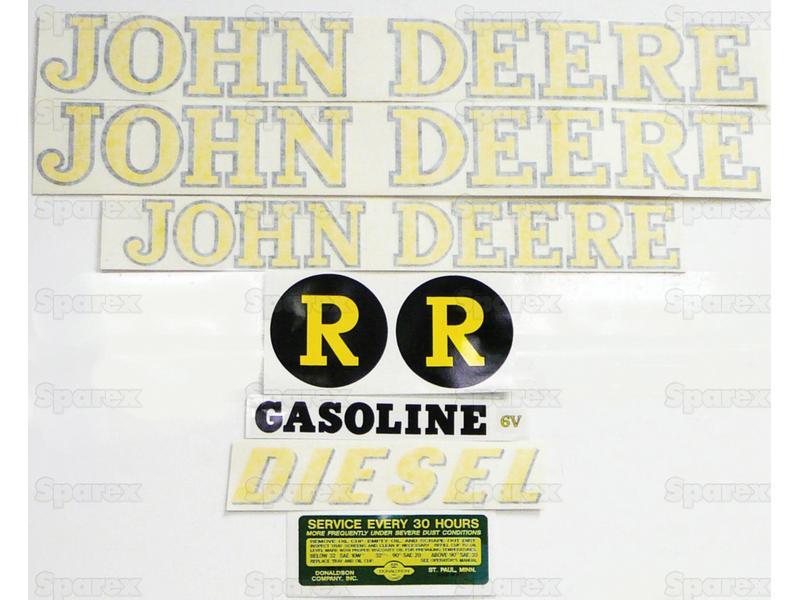 Decal Kit, JD R