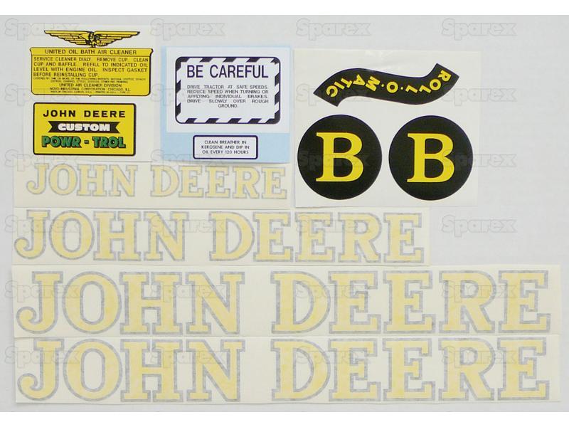 Decal Kit, JD B 40-52