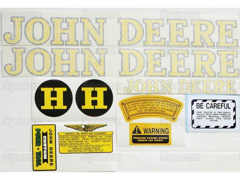 Decal Kit, JD H