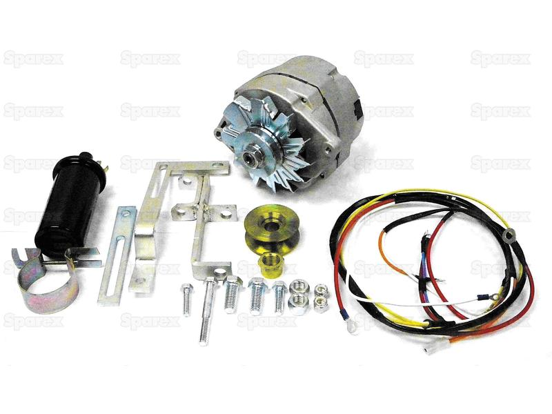 ALTERNATOR CONV. KIT - FORD 8N EARLY