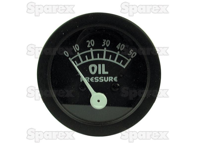 GAUGE, OIL PRESSURE, 0-50 PSI, 9N9273A
