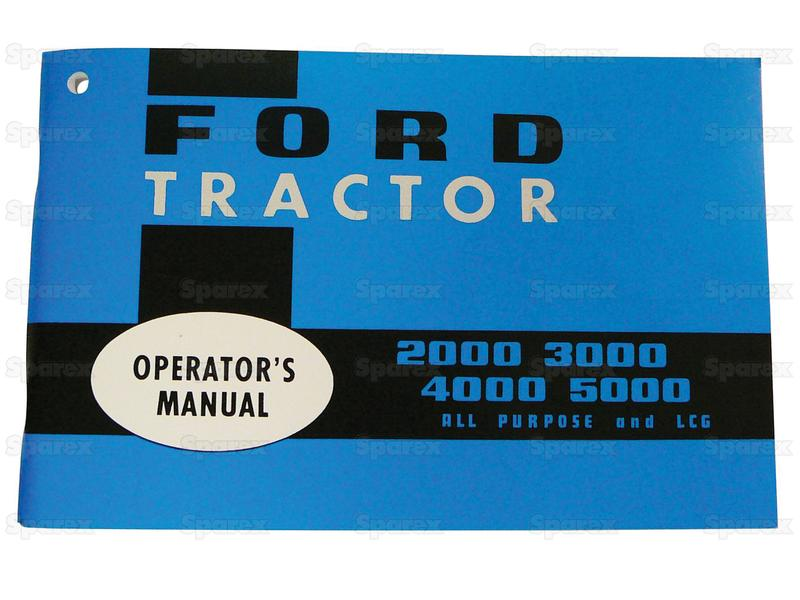 MANUAL, OWNERS, FORD 2000-5000