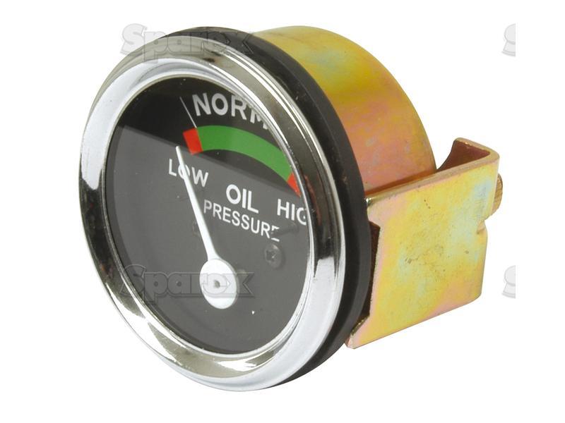 GAUGE, OIL PRESSURE, 60 LB