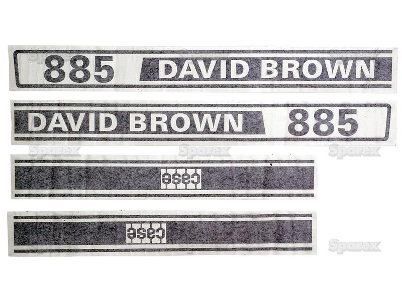 DECALS DB 885 SELECTAMATIC