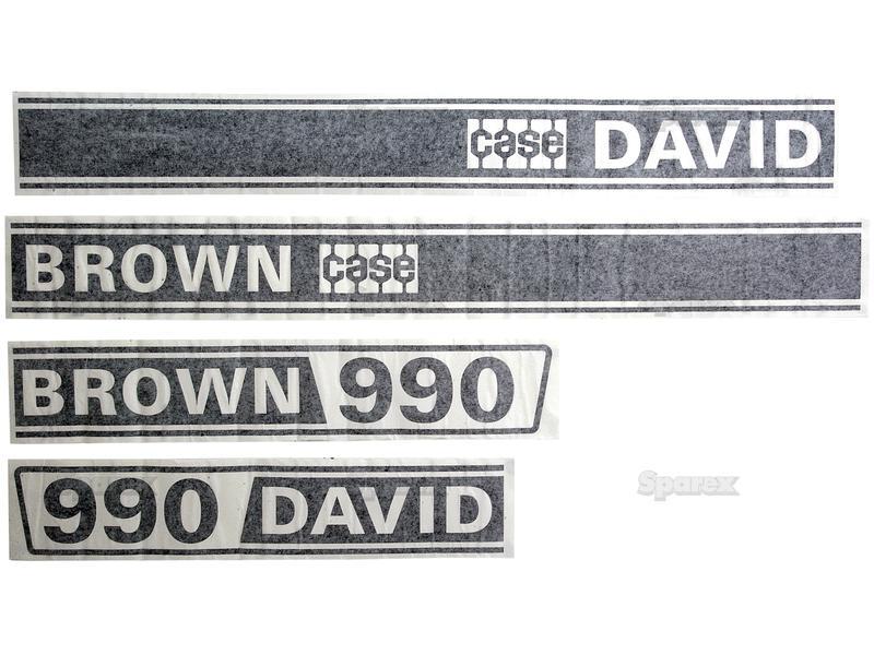 DECAL KIT, DB, 990, SELECTAMATIC