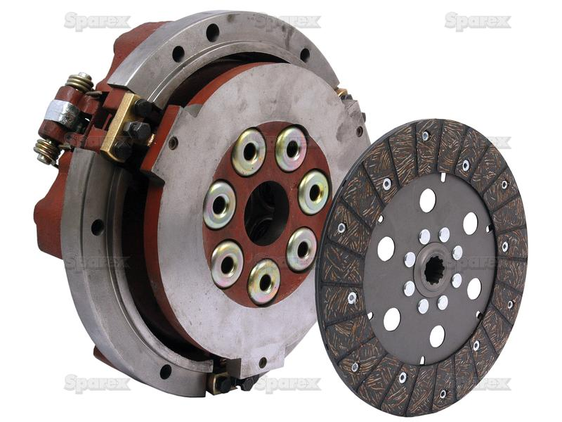 """CLUTCH ASSEMBLY, DUAL, 10"""""""