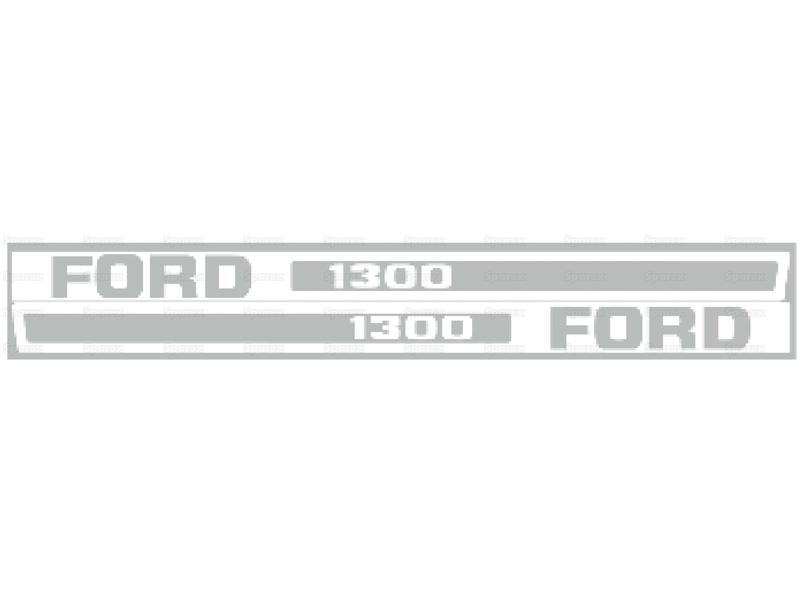 DECAL - FORD 1300