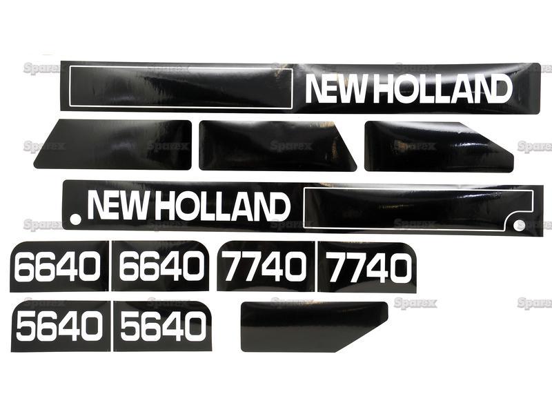 DECAL SET - HOOD -NH 5640,6640,7740