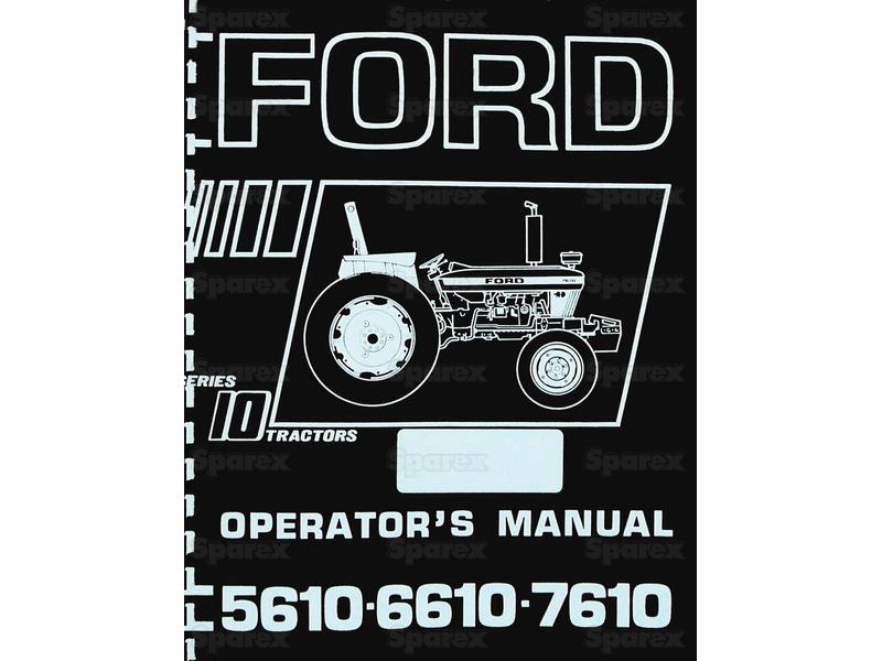 MANUAL, SERVICE, FORD 5610-7610