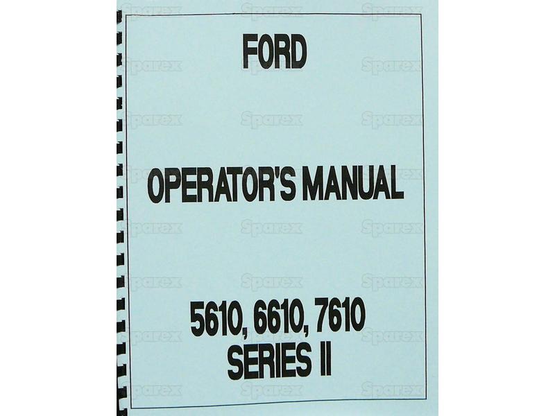 OP MAN. FD 56-7610 SERII -