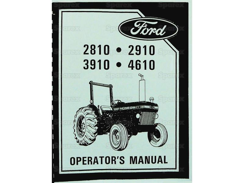 MANUAL, SERVICE, FORD 2810-4610