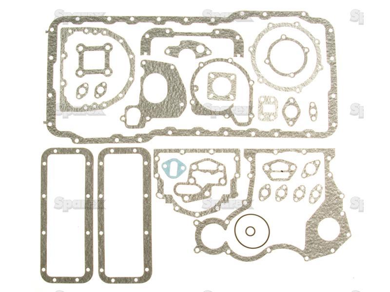 Bottom Gasket Set S.43181 U5LB0002, U5LB0056, 4223557V91, 4224120M91, 4224120V91, 4224120Z91, U5LB1224, 746804M91, U5LB1224, U5LB0002,