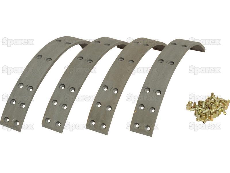 Brake Lining Kit S.65721 C7NN6A605A, C5NN2218E, C5NN2284D, 81814147, 81802510,